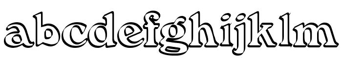 Callistroke Font LOWERCASE