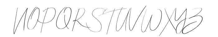 Callous Font UPPERCASE