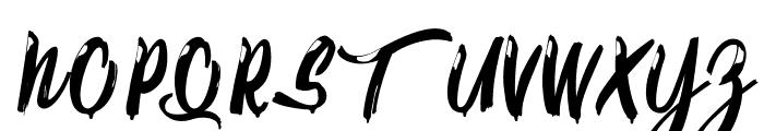 Calypsoka Font UPPERCASE