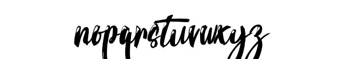 Calypsoka Font LOWERCASE