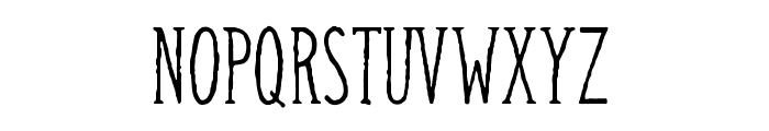Camargue Serif Regular Font UPPERCASE