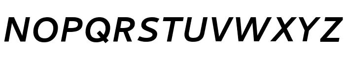 Cambay Bold Italic Font UPPERCASE
