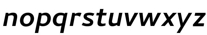 Cambay Bold Italic Font LOWERCASE