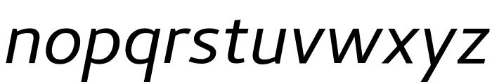 Cambay Italic Font LOWERCASE
