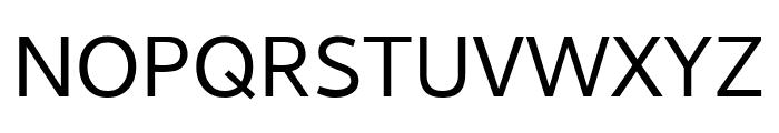 Cambay Regular Font UPPERCASE