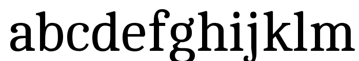Cambo Font LOWERCASE