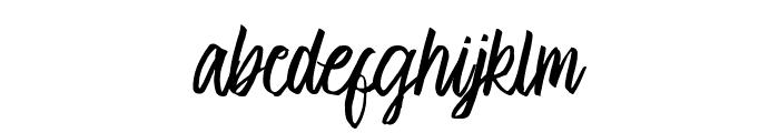 Cambridge Font LOWERCASE