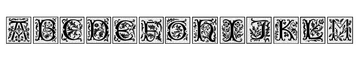 CamelotCaps Font UPPERCASE
