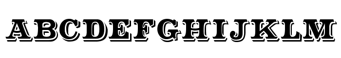 CameoAntique Font UPPERCASE