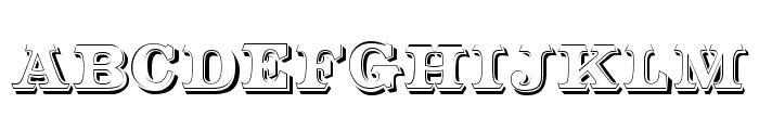 CameoAntique Font LOWERCASE