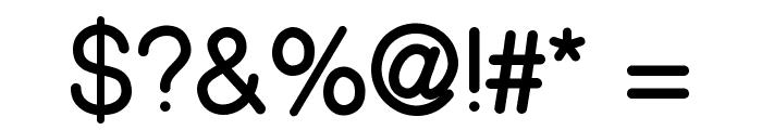 CameronSansBold Font OTHER CHARS