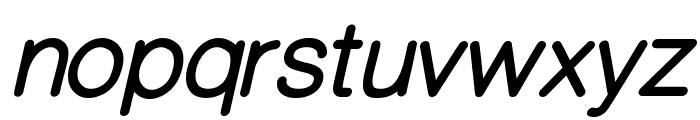 CameronSansBoldOblique Font LOWERCASE