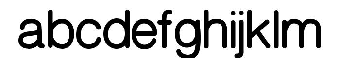 CameronSansBold Font LOWERCASE