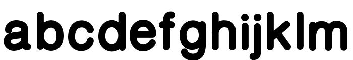 CameronSansExtraBold Font LOWERCASE