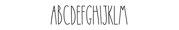 CamiRae-Regular Font UPPERCASE