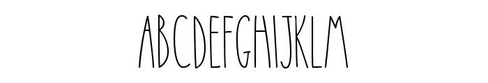 CamiRae-Regular Font LOWERCASE