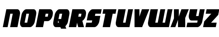 Camp Justice Semi-Italic Font LOWERCASE