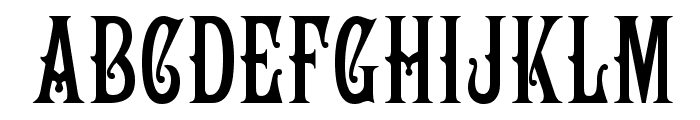 Campanile Font UPPERCASE