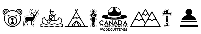 Canada Font OTHER CHARS