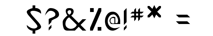 Canaith Regular Font OTHER CHARS