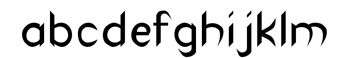 Canaith Regular Font LOWERCASE