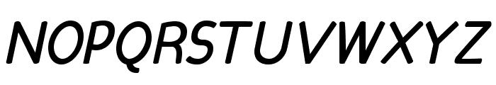 Candela Bold Italic Font UPPERCASE