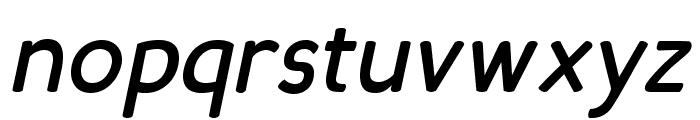Candela Bold Italic Font LOWERCASE