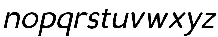 Candela Book Italic Font LOWERCASE