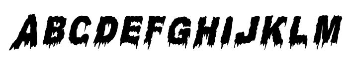 Candle Light Italic Font UPPERCASE