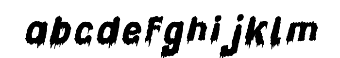 Candle Light Italic Font LOWERCASE