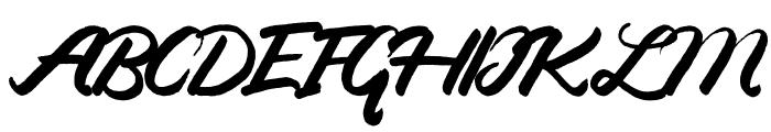 Candy-Regular Font UPPERCASE
