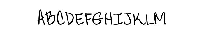 CandyDelish Font UPPERCASE