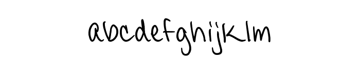 CandyDelish Font LOWERCASE
