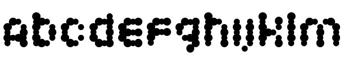 Candybar Font UPPERCASE