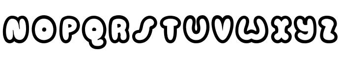 Candycolouredclown Font UPPERCASE