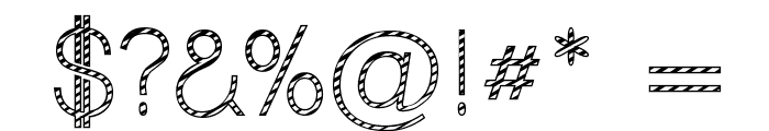 Cane Lane Light Font OTHER CHARS