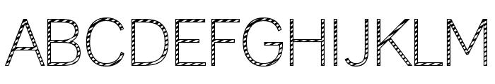 Cane Lane Light Font UPPERCASE
