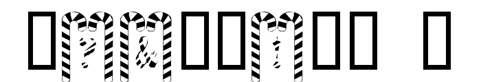 Cane Pillars Font OTHER CHARS