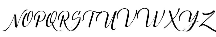 Canela Bark Personal Use Font UPPERCASE
