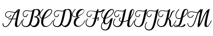 Cangkhoi Font UPPERCASE