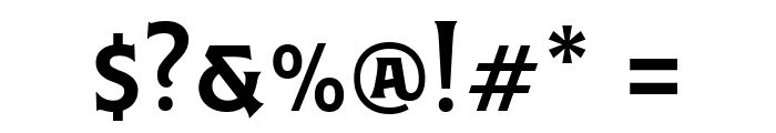 Caniste Demo Semibold Font OTHER CHARS