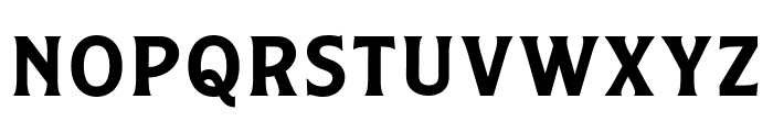 Caniste Demo Semibold Font LOWERCASE