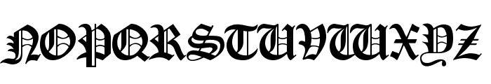 Cankama Font UPPERCASE