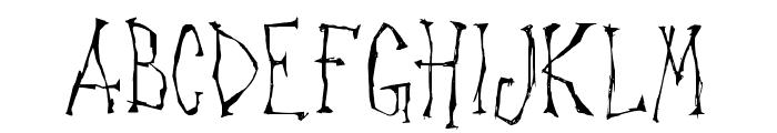 Canker Sore Font UPPERCASE