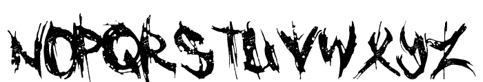 Cannibal Font UPPERCASE