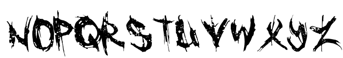 Cannibal Font LOWERCASE