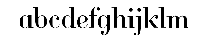 Cantabile Font LOWERCASE