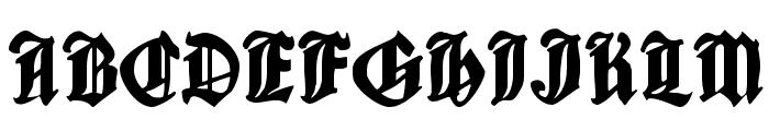 CantaraGotica Font UPPERCASE