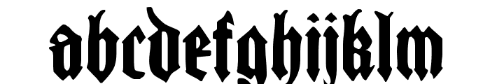 CantaraGotica Font LOWERCASE