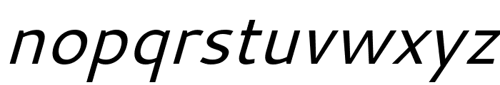 Cantarell Oblique Font LOWERCASE